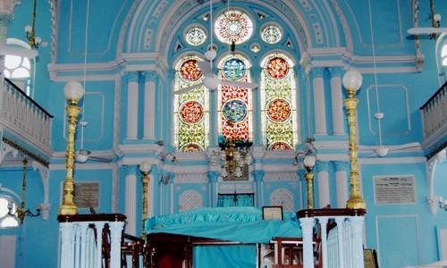 The Beautiful Keneseth Eiyahoo Synagogue, Mumbai, India